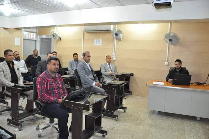 كلية الهندسة تعقد ورشة علمية عن امكانية الوصول في صناعة المكان في مركز مدينة الديوانية