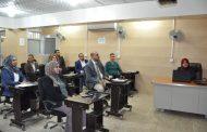 كلية الهندسة تنظم ورشة علمية عن سلوك انحناء الاعتاب الخرسانية