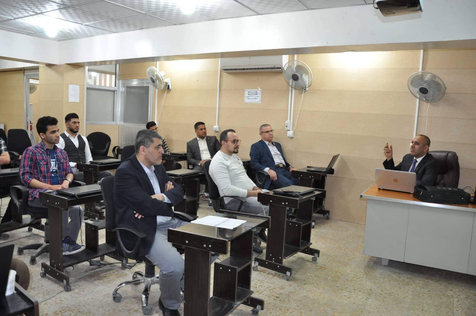 كلية الهندسة تعقد دورة علمية حول الفحوصات الميكانيكية للمواد البوليميرية ( المطاطية )
