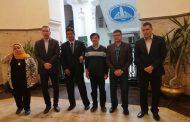 كلية الهندسة توقع اتفاقية عقد مؤتمر علمي في جامعة أسيوط المصرية