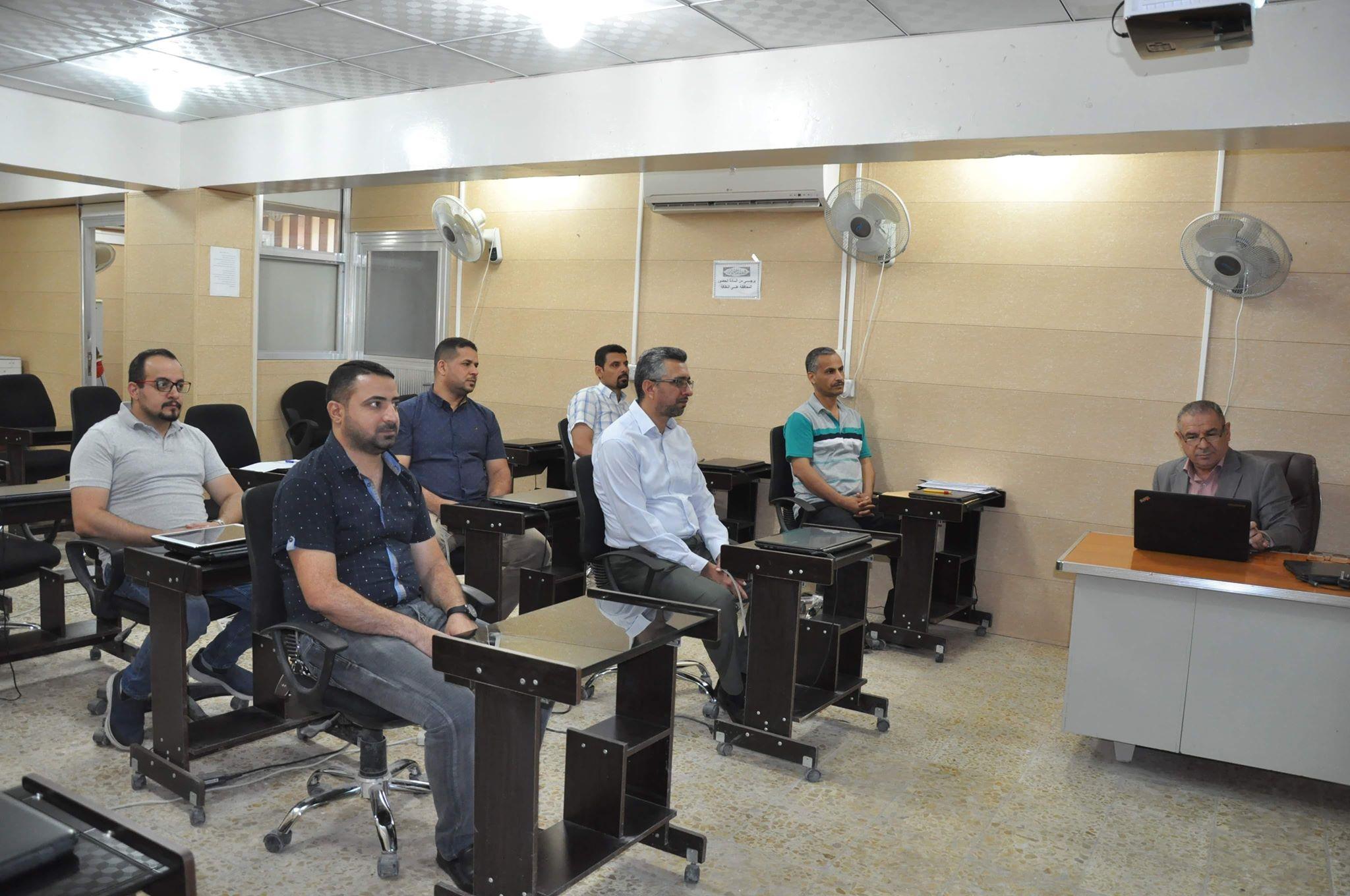 كلية الهندسة تقيم دورة علمية حول برنامج الماتلاب في التطبيقات الهندسية