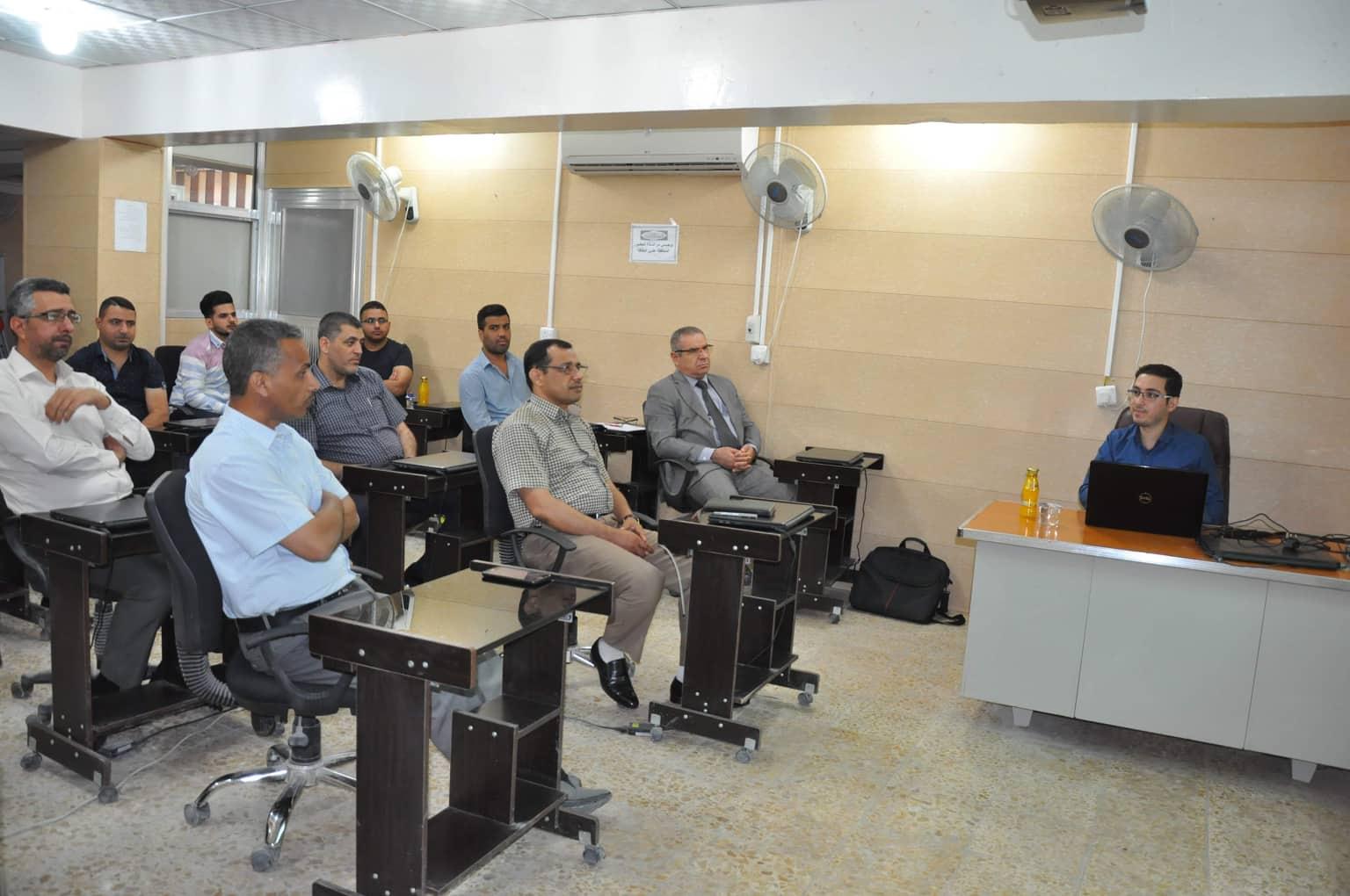 كلية الهندسة تنظم ورشة علمية حول برامج ادارة الجامعات