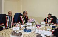 مشاركة أ.م.د. حسين علي جنة في لجنة مناقشة رسالة ماجستير في كلية الهندسة جامعة البصرة