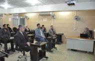 تهيئة اختبار الكتروني باستخدام منصة التعليم الالكتروني عنوان الدورة التي نظمتها كلية الهندسة