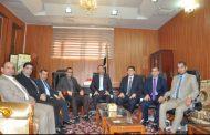رئيس جامعة القادسية يشير الى تعزيز قدرة العطاء كل حسب موقعه ومسؤوليته في العمل