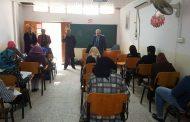 الامتحانات الفصلية في كلية الفنون الجميلة في جامعة القادسية