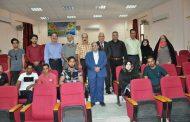 استضافة الفنان والكاتب الممثل المسرحي (عبد الصاحب ابراهيم اميري )في كلية الفنون الجميلة