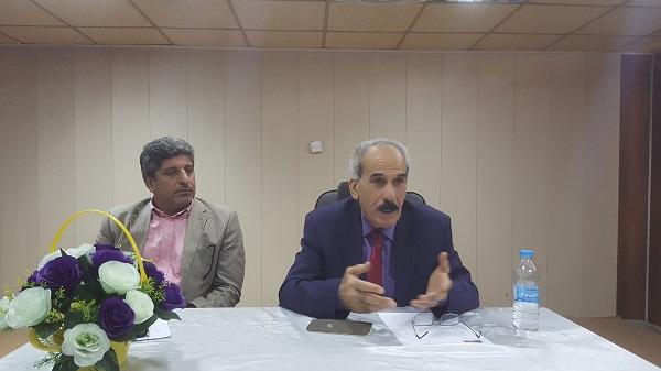 محاضرة حوارية بعنوان (الفضاء المسرحي بين التقليد والتجديد ) للدكتور باسم الاعسم