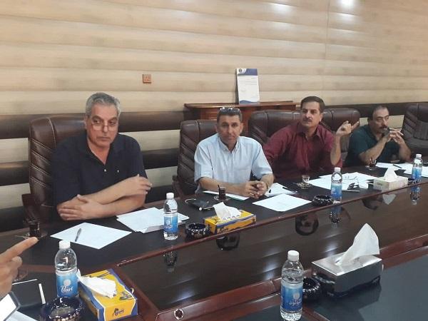 رؤساء اقسام التربية الفنية في كليات الفنون الجميلة العراق يناقشون تطوير المقررات الدراسية بما يتلائم مع التطور العلمي .
