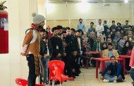 كلية الفنون الجميلة جامعة القادسية تشارك وتتألق في مهرجان المسرح الاكاديمي الوطني الاول في رحاب جامعة بابل