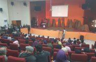 انطلاق فعاليات مهرجان المسرح التجريبي السنوي الثاني في كلية الفنون الجميلة جامعة القادسية دورة الفنان عزيز خيون.