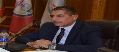 رئيس جامعة القادسية الاستاذ الدكتور كاظم جبر الجبوري المحترم يلتقي بمجلس كلية الفنون الجميلة