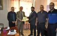 عميد كلية العلوم بجامعة القادسية يحصل على براءة اختراع