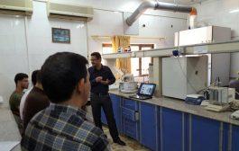 ندوة في وحدة ابحاث البيئة بعنوان التقنيات الحديثة في معالجة الملوثات النووية