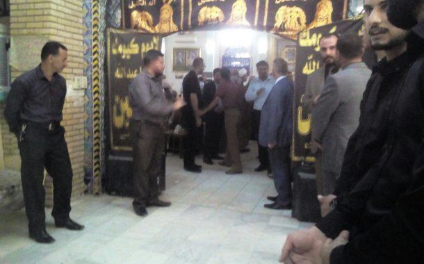 اختتام مراسيم عزاء الفقيد الراحل الاستاذ د.نجم عبد الواحد بمجلس عزاء اقامته جامعة القادسية