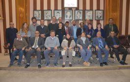 حضور عميد كلية العلوم لقاء رئيس جامعة القادسية مع وفد جامعة بولونيا الايطالية