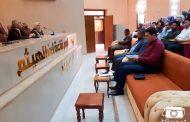السيد عميد كلية العلوم يجتمع مع طلبة المرحلة الثالثة لكل الاقسام
