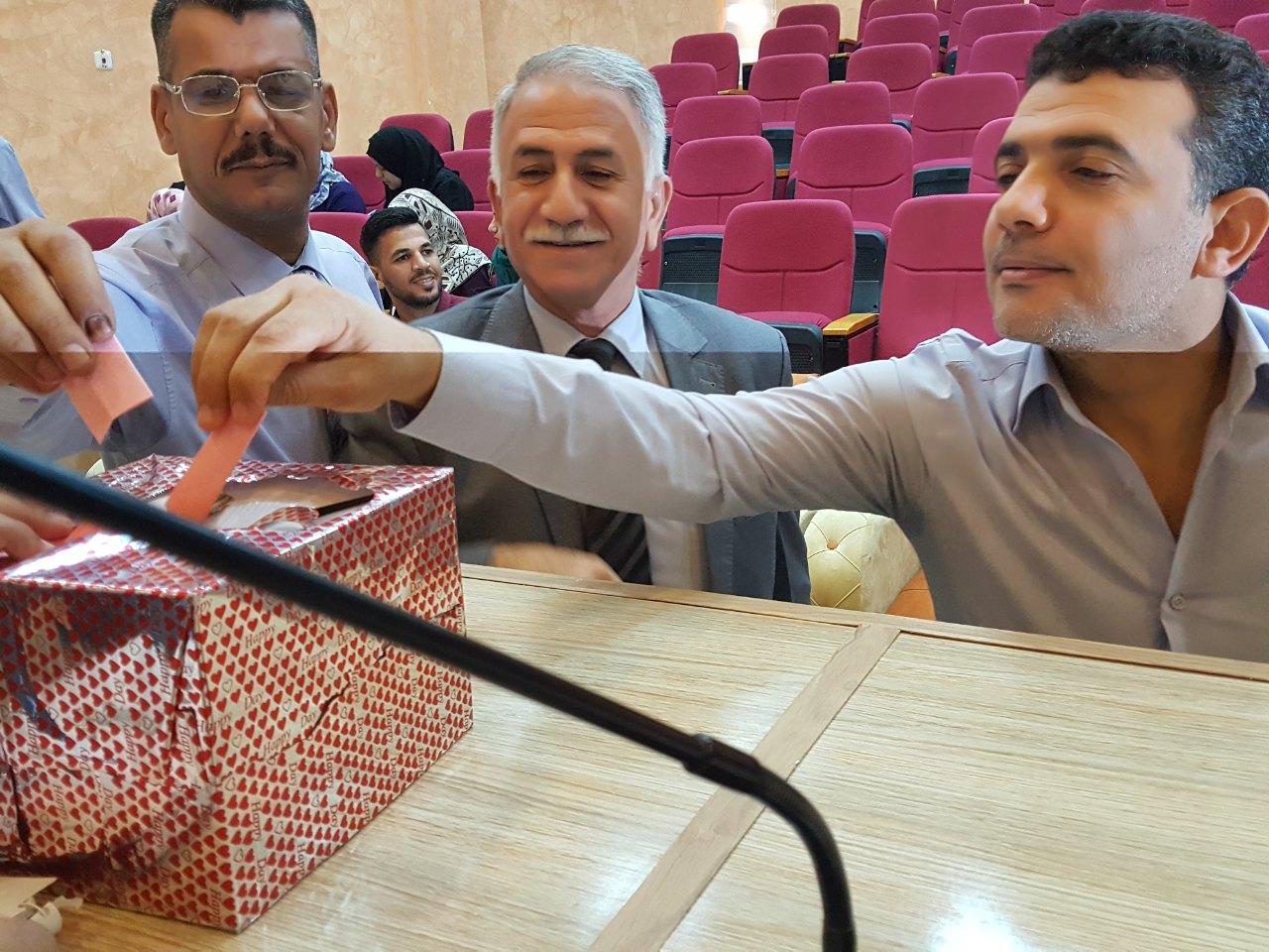 تدريسيو كلية العلوم يختارون ممثلهم لنقابة الاكاديمين العراقيين/فرع الديوانية