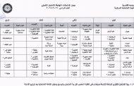 اعلان جدول امتحانات الدور التكميلي للطلبة