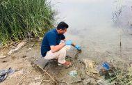 لجنة علمية من كلية العلوم تدرس تلوث نهر الحلة وسدة الهندية واحواض الاسماك