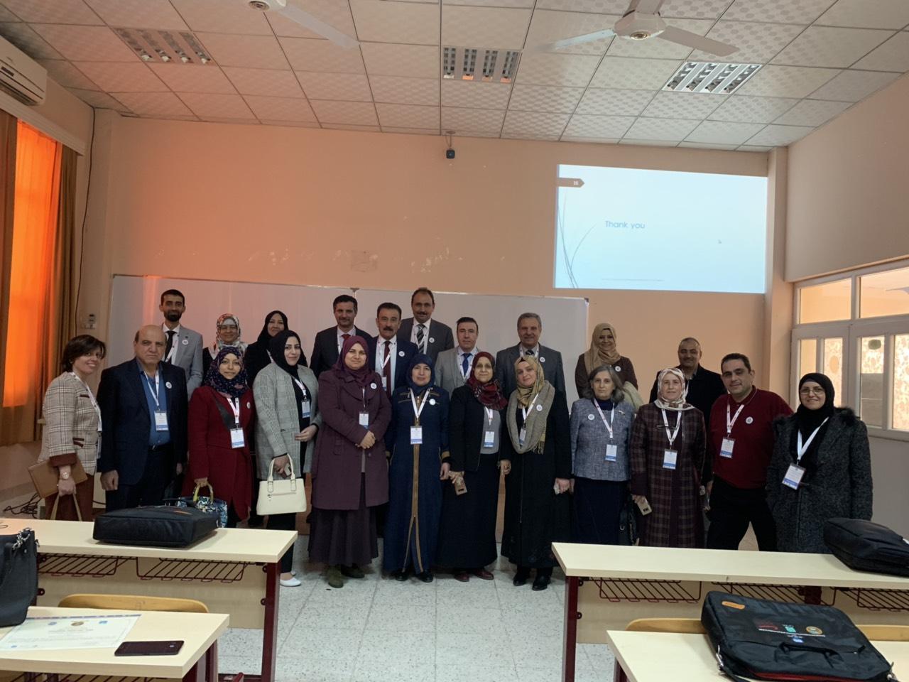 وفد من تدريسي كلية العلوم/جامعة القادسية يشارك في المؤتمر الدولي لجامعة صلاح الدين-اربيل