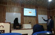 قسم البيئة في كلية العلوم يقيم دورة تدريبية حول صيانة الطابعات الليزرية