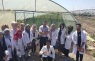 زيارة ميدانية الى كلية الزراعة ينظمها قسم البيئة في كلية العلوم