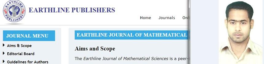 تدريسي في كلية العلوم عضوا في هيئة تحرير مجلة علمية محكمة