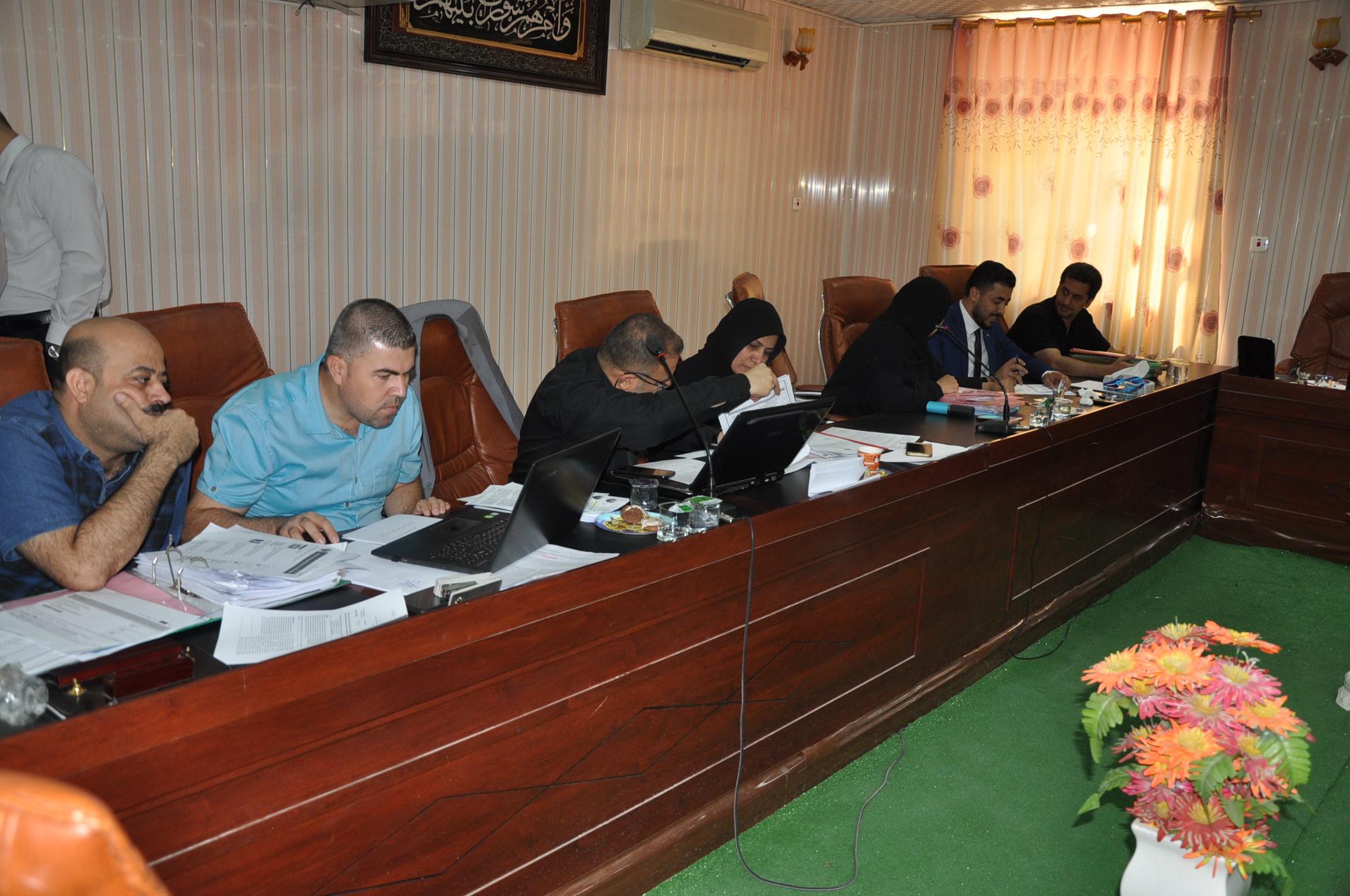 كلية العلوم تستضيف اعمال لجنة ضمان الجودة الوزارية