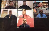 مجلس كلية العلوم  يعقد اجتماعا فيديويا لمناقشة الكتب الوزارية حول التعليم الالكتروني