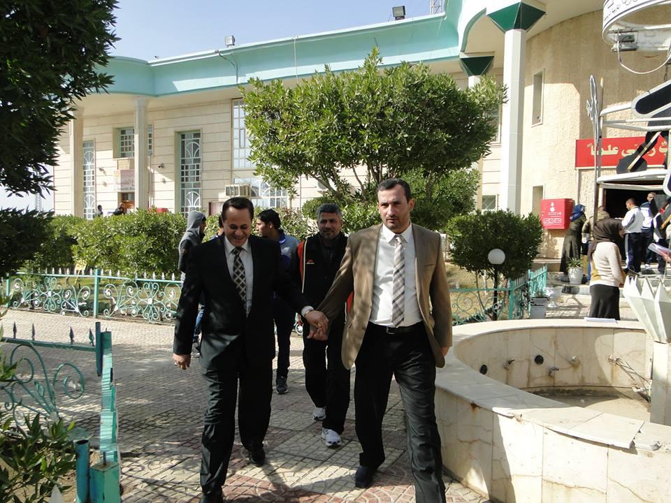 زيارة الاستاذ حسن مجلي عضو مجلس المحافظة