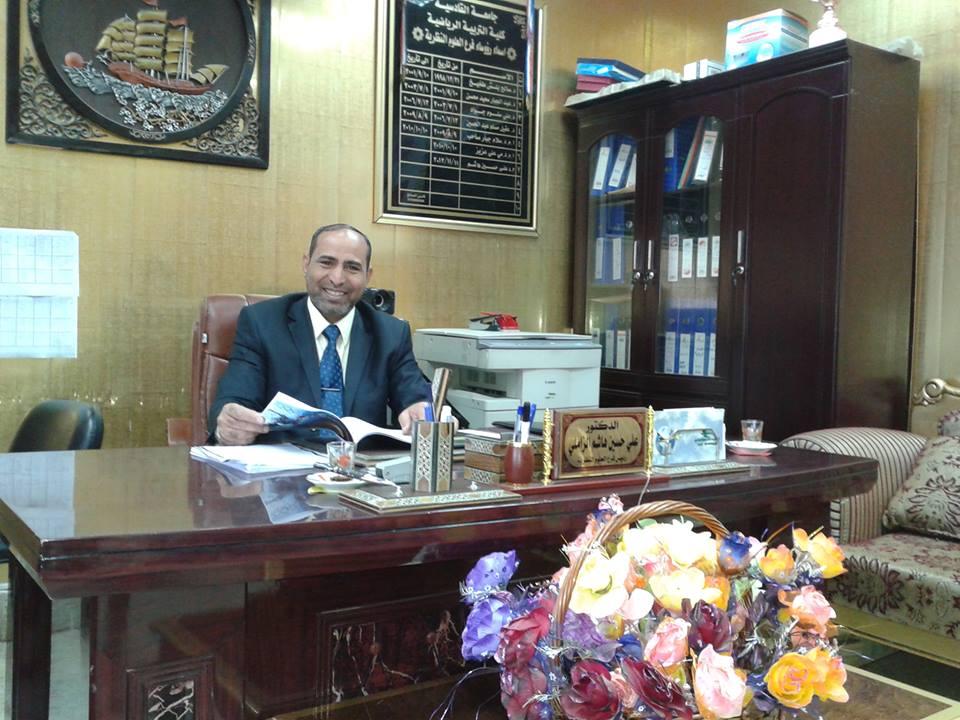 أنتخاب الدكتور علي حسين هاشم نائبا لرئيس أتحاد القادة الرياضيين فرع الديوانية