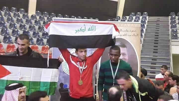 الملاكم البطل غزوان أنهير يحرز بطولة البقعه الدولية بالملاكمة