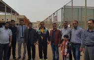 أستقبال كليتنا لطلبة ثانوية الشهيد عادل في الشامية