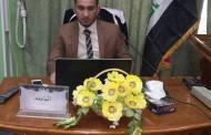 مناقشة رسالة الماجستير للطالب محمد فائز