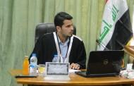 مناقشة رسالة الماجستير للطالب علي ستار جبير