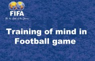 Lecture about training of mind in football game