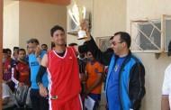 منتخب كلية التربية الرياضية يخطف لقب بطولة كليات الجامعة بكرة السلة