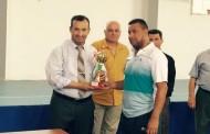 ختام بطولة (المرحوم الاستاذ عدنان سعيد فتاح) بكرة الطاولة للاساتذة