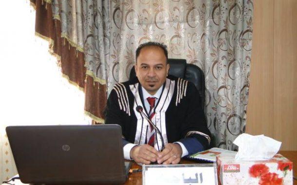 مناقشة رسالة الماجستيرللطالب  احمد حواس سلمان
