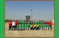 ((مباراة تجريبية )) بين منتخب جامعة القادسية ونادي عفك على ملعب الكلية
