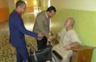 زيارة دار المسنين في الديوانية