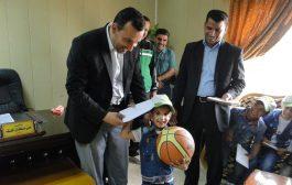 زيارة اطفال مؤسسة اليتم الخيرية