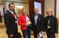 مشاركة الاستاذالمساعدالدكتور اكرم حسين جبرفي مؤتمردولي