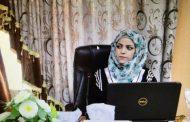 مناقشة رسالة الماجستير للطالبة نباء علي سامي