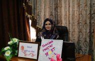 مناقشة طالبة الماجستير شهلاء عبد الهادي