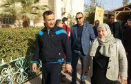 زيارة السيدة رئيسة الجامعة الدكتورفردوس عباس الى كليتنا