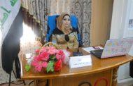 مناقشة طالبة الماجستير انوار عبد الهادي
