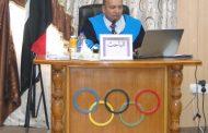 مناقشة  اطروحة الدكتوراه لطالب رياض حسن صالح
