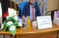 مناقشة رسالة الماجستير لطالب مهند فاضل عبد السادة